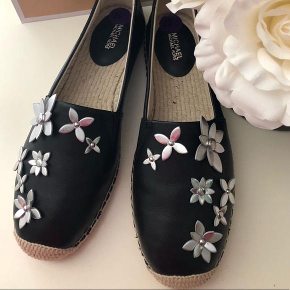 8cd836e6de48 🎀Michael Michael Kors Women s Leather Espadrilles.  M 5b3f8effd6dc524b25956359